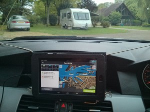 Nexus 7 as a SatNav